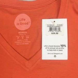 d03f5d18915 Life Is Good Tops - Life is good short sleeve cotton t shirt go places